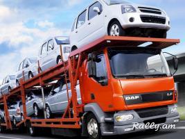 Մեքենաների տեղափոխում դեպի Ռուսաստան, Ղազախստան, Ուկրաինա, Բելոռուս