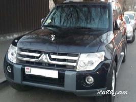 Prokat Rent a Car Ավտոմեքենաների վարձույթ Прокат Машин Mitsubishi Pajero
