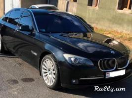 Rent a car Prokat Ավտոմեքենաների վարձույթ Прокат Машин RED CAR BMW 750IL LONG