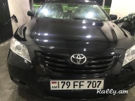 Toyota camry oravardzov meqenaner avto prakat avtovardzuyt аренда машин прокат Toyota Camry