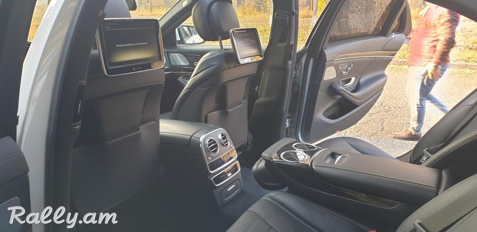 ArmeniA RENT A CAR Prokat Mercedes w222 wald miakn e Hayastanum prakat