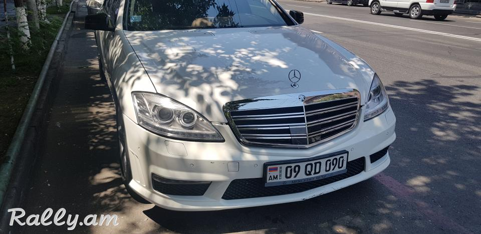 ArmeniA RENT A CAR Prokat Mercedes w221 s63 amg
