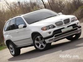 RENT A CAR BMW X5 E53 RESTYLING