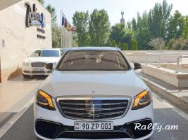 ArmeniA RENT A CAR S222 S63 AMG