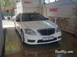 ArmeniA RENT A CAR Prokat Mercedes w221 s63 amg