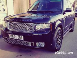 ArmeniA RENT A CAR Prokat RANGE ROVER