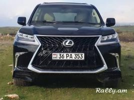 ArmeniA RENT A CAR Prokat LEXUS LX570