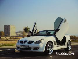 ArmeniA RENT A CAR Prokat Mercedes W171 SLK