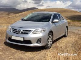 ArmeniA RENT A CAR Prokat TOYOTA COROLLA