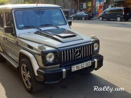 ArmeniA RENT A CAR Prokat Mercedes w463 METALIK