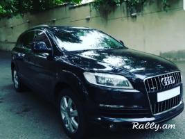 Ավտոմեքենաների վարձույթ PROKAT MEQENA AVTOPROKAT AVTOVARCUYT Audi Q7
