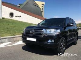Վարձով է տրվում Toyota Land Cruiser 200
