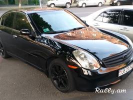 Rent a Car Prokat Ավտոմեքենաների վարձույթ Прокат INFINITI g35