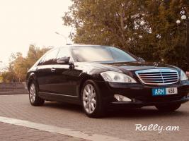 Mercedes S class w221 varcuyt dimavorum harsaniq