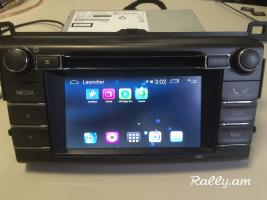 Toyota Corolla, Auris, RAV4, Android GPS LIVE Navigation Multimedia համակարգ