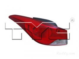 Hyundai elantra 2011-2013 USA լուսարձակներ TYC
