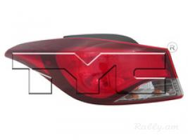 Hyundai elantra 2014-2016 USA լուսարձակներ TYC