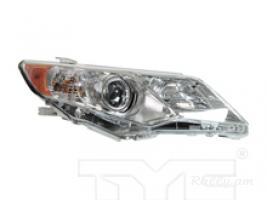 Toyota camry 2012-2014 առջևի լուսարձակներ TYC
