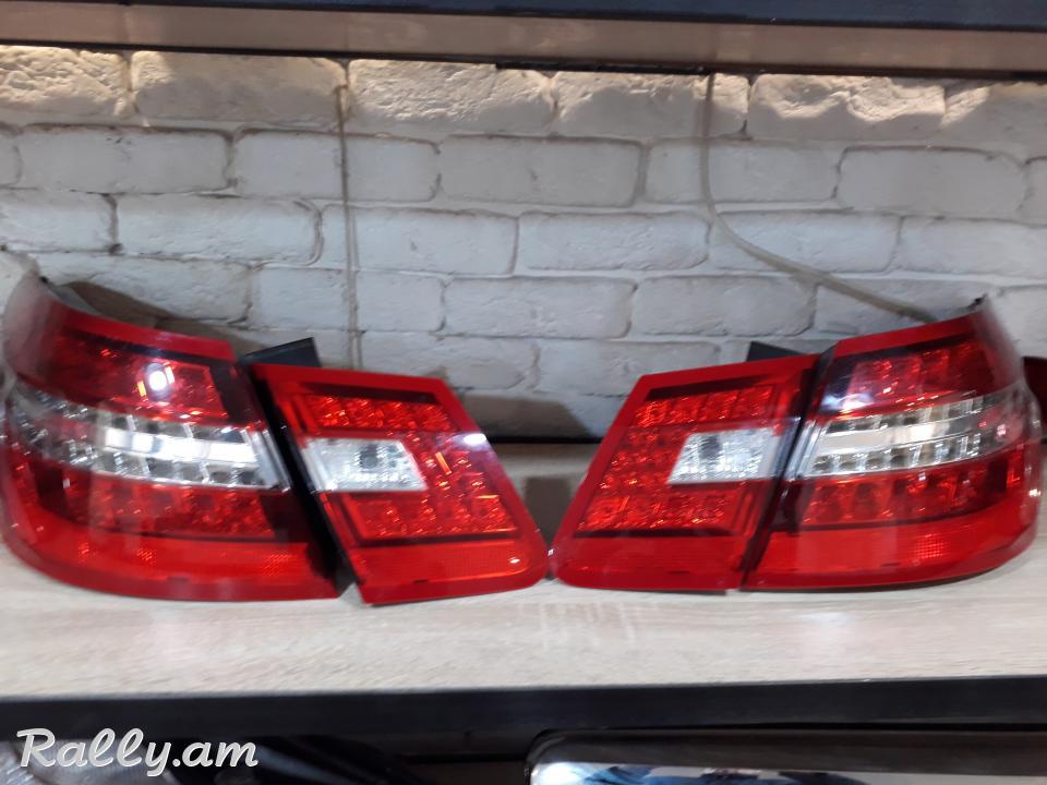 Mercedes-Benz E class լուսարձակներ հետևի զույգ