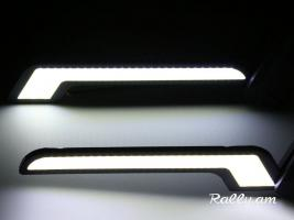 LED Halogen DRL (LED luyser) L (1zuyg)
