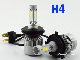 H4 Led 72W Ավտոլամպեր Avtolamper (лампочки для автомобиля)