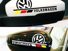 VW Կողային հայելիների Sticker