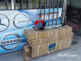 Nissan Tiida rulavoy kalonka