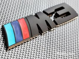 BMW M3 M5 BLACK Emblem (Metaxakan) (բարձր որակ)