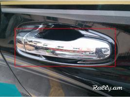 TOYOTA Land Cruiser Prado 2010-2015 Դռների Բռնակների Նիկելներ (Բարձր Որակ)