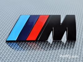 BMW M Emblem (սև) Metaxakan (բարձր որակ)