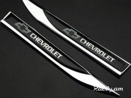 2Pcs CHEVROLET Sport metaxakan emblem (New)