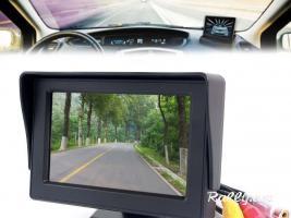 """Ավտոմեքենայի LCD monitor 4.3"""" (DVD, GPS, Backup Camera) (Նոր) (բարձր որակ)"""