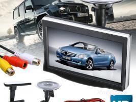 """Ավտոմեքենայի LCD monitor 5.0"""" (5 duym) (DVD, GPS, Backup Camera) (Նոր)"""
