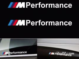 2Pcs BMW M Performance Nakleyka 20cm