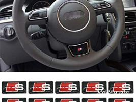 Audi S line poqr emblem