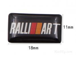 Mitsubishi ralliart poqr emblem