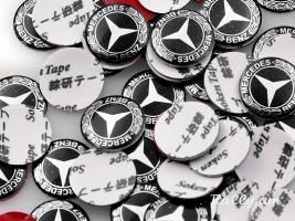 Mercedes benz banalu emblem poqr 14mm