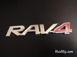 Toyota rav4 bernaxciki emblem