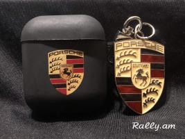 Porsche air pods -i chexol + kaxazard