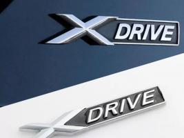 Bmw x drive emblem metaxakan
