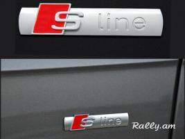Audi S line bagajniki ev saloni emblem