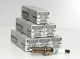 Made in japan original 100% denso double iridium svecha nissan 22401-EW61C